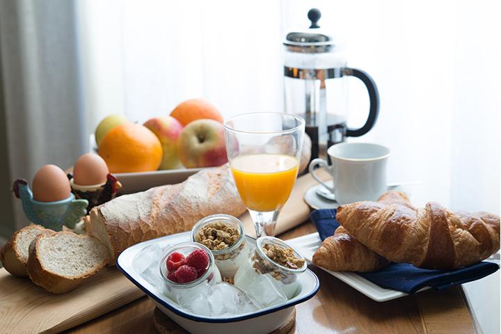 Le Petit Cochon - Breakfast