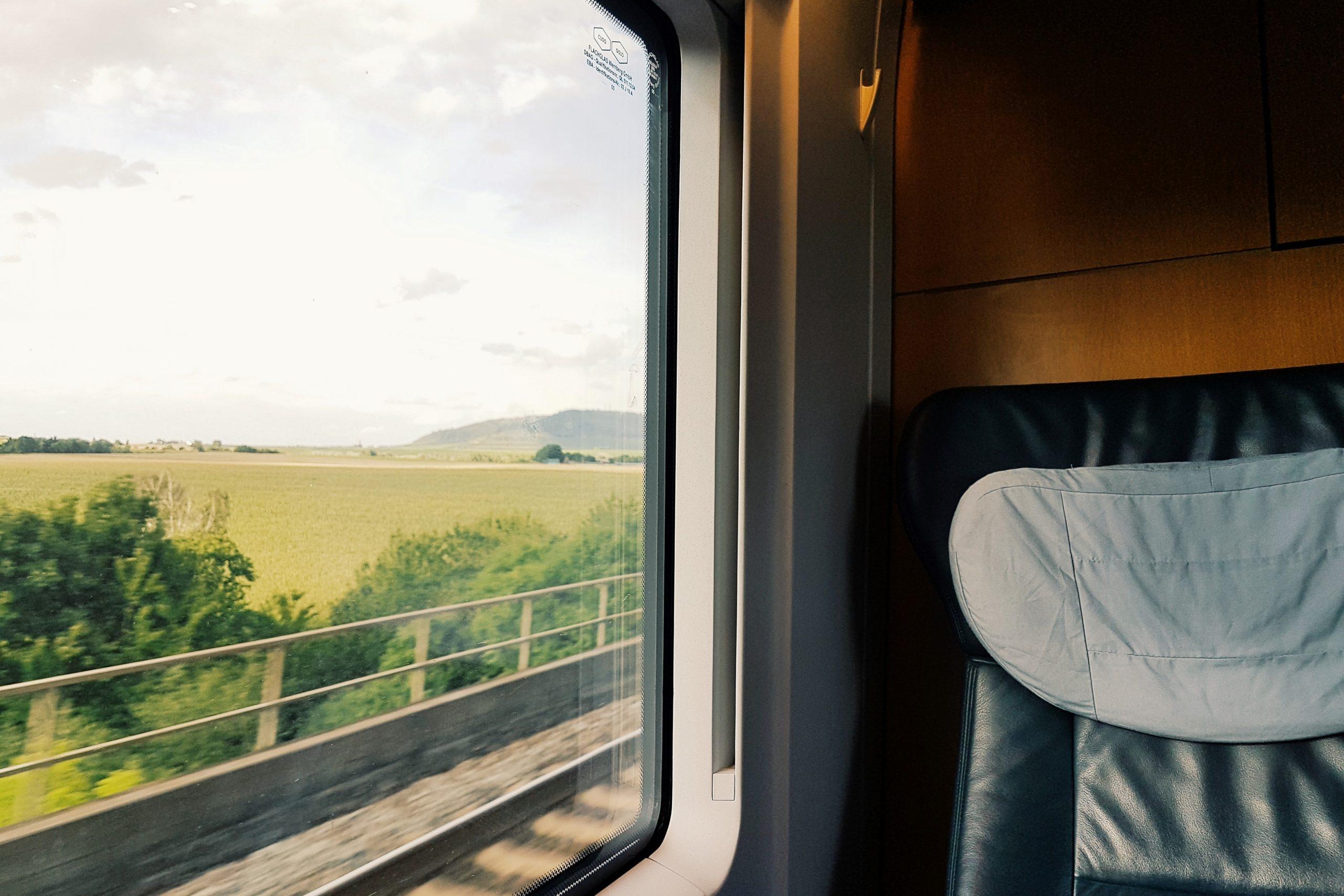 Mit dem Zug in die Gascogne